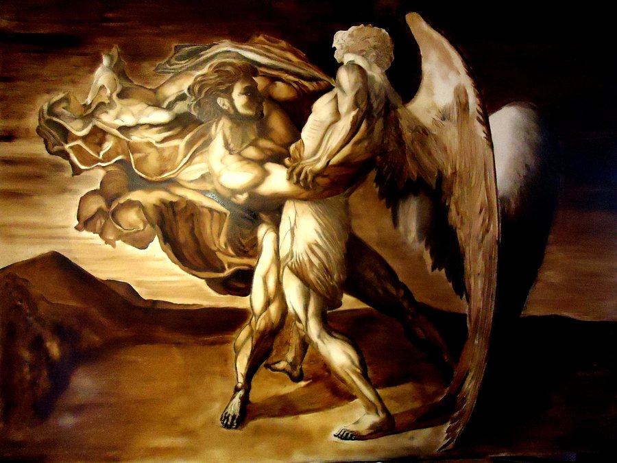 In Judaism faith means wrestling with God as Jacob once ... |Jacob Wrestles With God Meaning